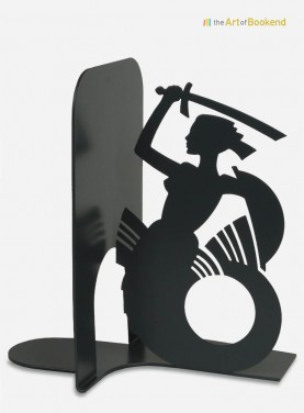 Serre-livres la Sirène de Varsovie. Hauteur 19 cm