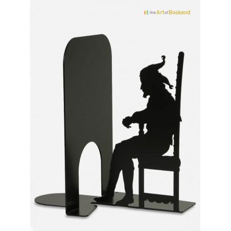 Le serre-livres Stanczyk le fou du roi. Hauteur 19 cm