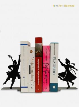 Ensemble de serre-livres Folklore polonais de la région de Cracovie. Hauteur 19 cm