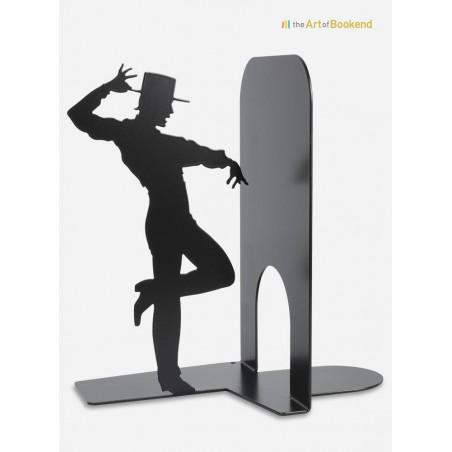 Serre-livres le danseur de Flamenco. Création acier par découpe laser Hauteur 19 cm