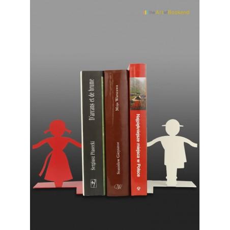 Le très bel ensemble de serre-livres Górale Folk sur le thème du folklore polonais des montagnes Tatras. Hauteur 15 cm