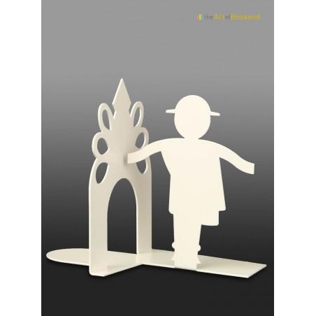Serre-livres Górale représentant un danseur folklorique des montagnes Tatras. Hauteur 15 cm