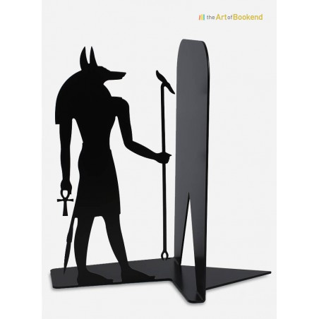 Stunning Egyptian bookend Anubis on the theme of the ancient Egypt. Height 19 cm
