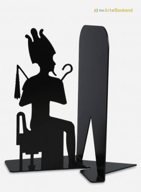 Egyptian bookend Osiris depicting the egyptian god. Height 19 cm