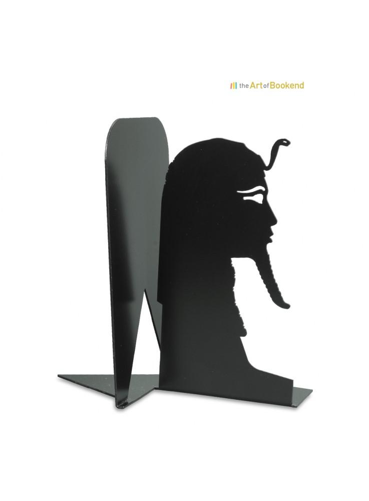 Serre-livres le Sphinx de Tanis. Hauteur 19 cm. Acier découpé laser