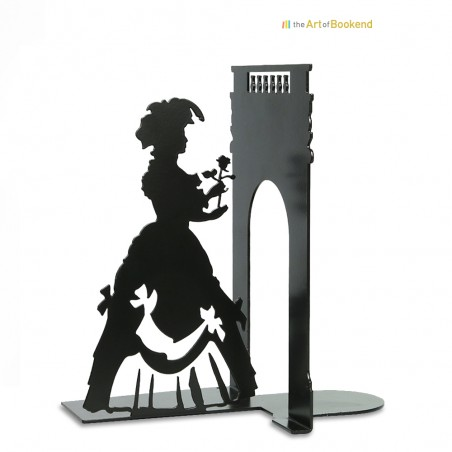 Bookend Marie-Antoinette Queen of France. Height 19 cm