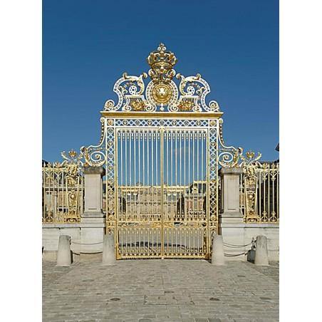 Grille Royale réalisée sous le règne de Louis XIV vers 1680 par Jules Hardouin-Mansart.