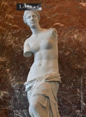 La statue de la déesse grecque de l'amour Aphrodite découverte sur l'île de Mélos en 1820