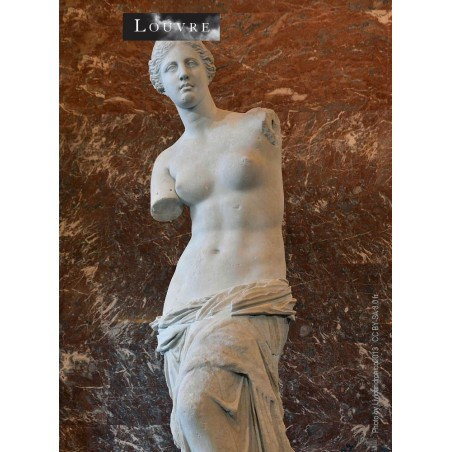 The statue of the goddess of love Aphrodite discovered on the island of Melos in 1820