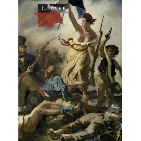 Tableau de Eugène Delacroix commemorating the July revolution of 1830