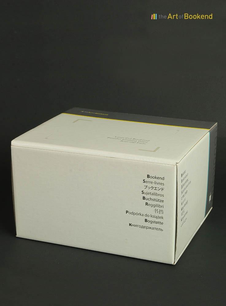Boite imprimée offset pour un (1) serre-livres