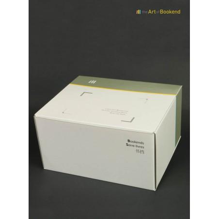 Boite spéciale imprimée pour ensemble de serre-livres