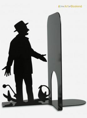 Serre-livres Louis de Funès d'après le film Le Corniaud. Hauteur 19 cm