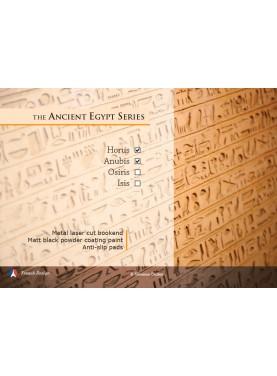 The Ancient Egypt Series - Horus et Anubis. Design Jacques Lahitte © the Art of Bookend