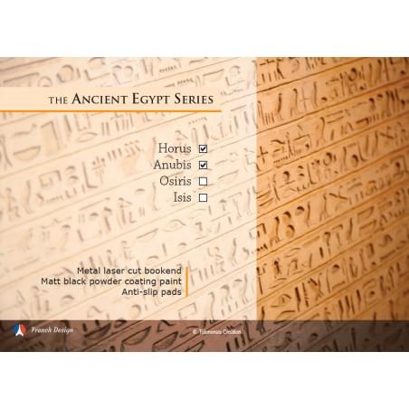 La série Egypte Antique - Horus et Anubis. Design Jacques Lahitte © the Art of Bookend