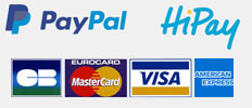 PayPal HiPay secure payment